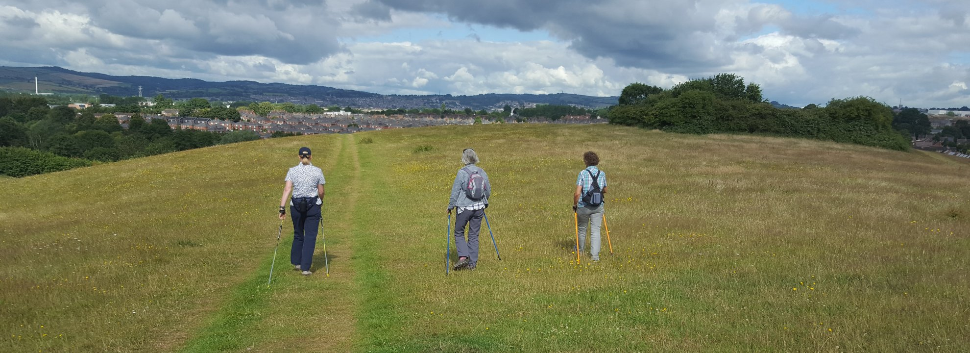 Nordic Walk - Ripple (Medium Pace) - Ludwell Valley Park, Exeter Banner